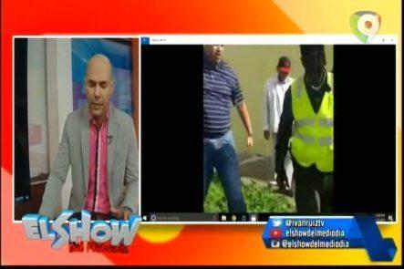 En El Show Del Mediodía Presentan El Video Donde Coronel Arremetió Contra Agentes De AMET
