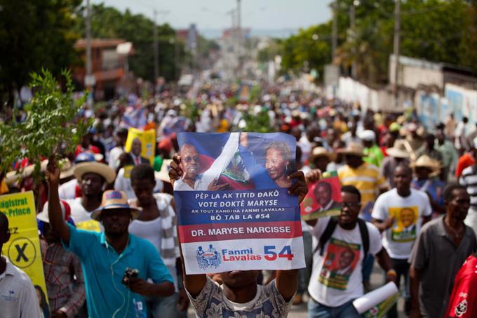 Elecciones-haitianos