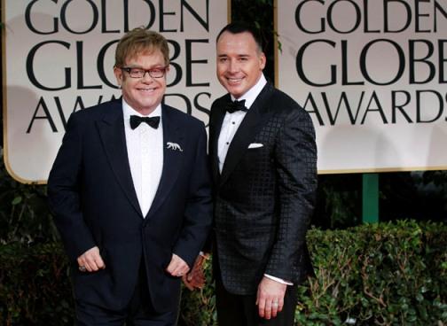 Elton John se casará en mayo con su pareja de 20 años David Furnish