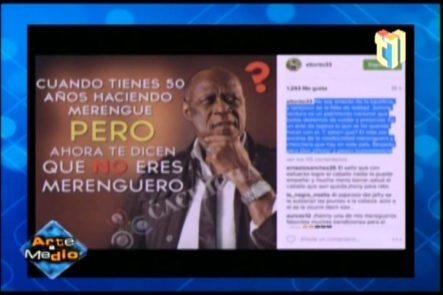 La Reacción De El Torito En Las Redes Sociales Ante Los Ataques Contra Johnny Ventura
