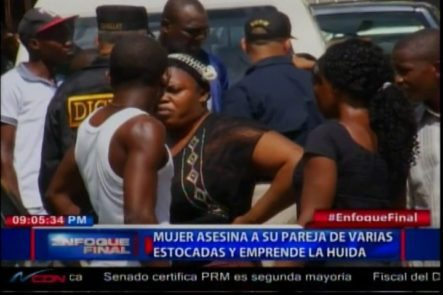 Mujer De Nacionalidad Haitiana Asesina A Su Pareja Y Emprende La Huída