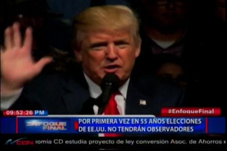 Resumen de noticias Internacionales Para Enfoque Final: Gobierno y Oposición venezolano Se Reunirán, Trump Dice Falsa Encuestas dan por como vencedora a Clinton y más…