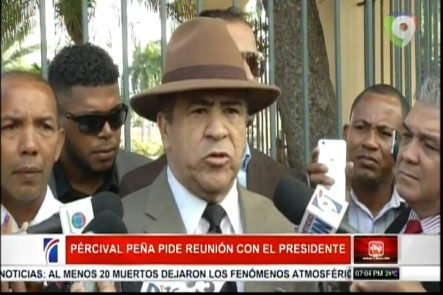 Ex Gral. Percival Peña Pide Reunión Con El Presidente Medina