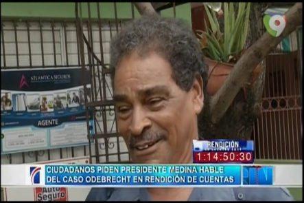 Expectativas De Los Ciudadanos Sobre Discurso De Danilo Medina