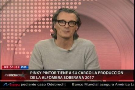 Entrevista A Pinky Pintor Quien Tiene A Cargo La Producción De La Alfombra Soberana 2017
