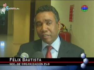 Felix Baustista dice que Leonel ganaria en 1ra vuelta