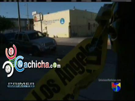 Balacera En Una Iglesia Deja Varios Heridos #Vídeo