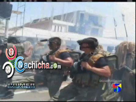 2 Personas Se Prenden Fuego En Un Desfile Militar #Vídeo