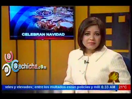 Cena de Navideña Donde Todo Falta y Nada Sobra en Casa Humilde Dominicana #Video