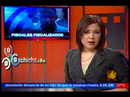 Fiscales Fiscalizados Por Soborno De Quinientos Mil Pesos Pagados Por Un Reo #Video #Cachicha