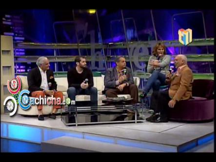 """Humor """"La Risoterapia"""" Excelente Entrevista  En @Cheverenights #Boruga @jochysantos @carloscomic @cuquinvictoria #Video"""
