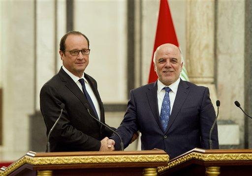 Mideast Iraq France