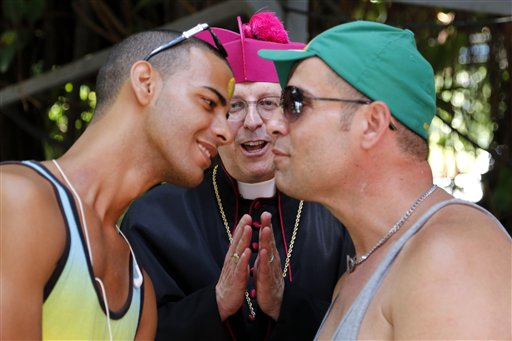 APTOPIX Cuba Gay Rights