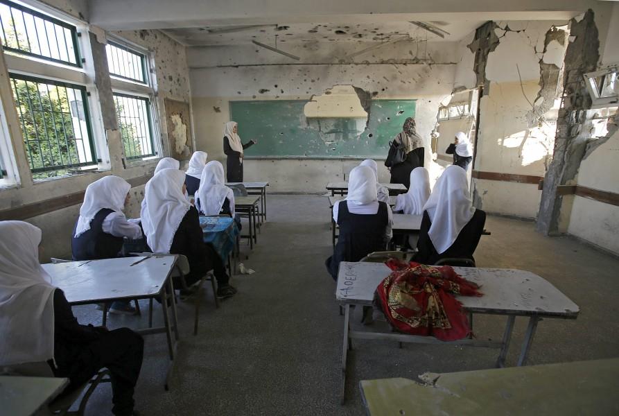 Gaza Regreso A Clases