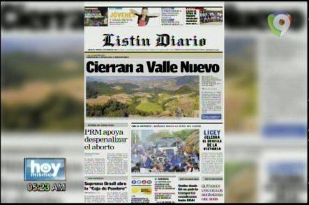 Portada De Los Periódicos Del Día De Hoy 31 – Enero- 2017