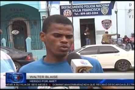Haitiano Que Resultó Herido De Bala Por Agente De AMET Dice Que La Institución No Se Ha Hecho Responsable De Su Situación