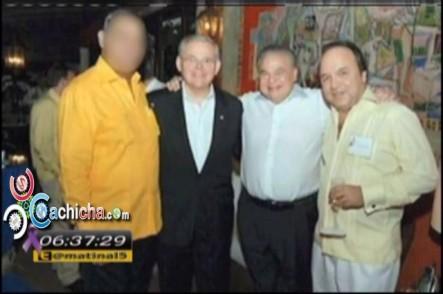 Hijo de Vincho Castillo Desmiente anduviera Con Senador Bob Menéndez En Su Yate Con Prostitutas