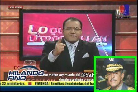 """Salvador Holguin Le Dice """"Fracasado"""" Al Jefe De La Policía Y Agregó Que Si Le Pasa Algo Este Es El Responsable"""