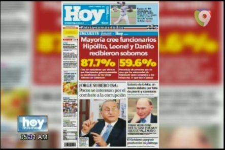 Portada De Los Periódicos Del Día De Hoy Febrero-5-2017