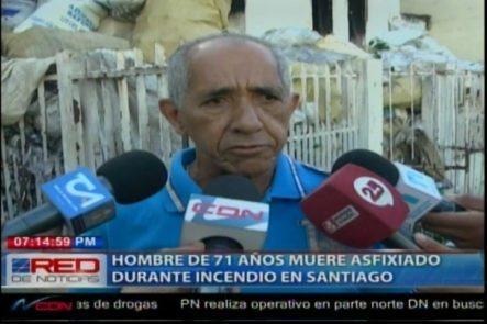 Hombre De 71 Años Muere Asfixiado Durante Un Incendio En La Joya, Santiago