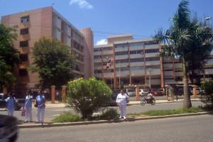 Situación de deterioro del hospital Cabral y Báez en la ciudad de Santiago de los Caballero