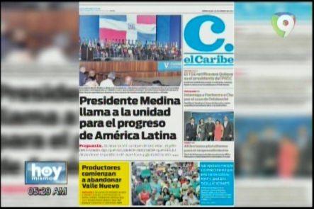 Actualízate Con Las Portadas De Los Principales Periódicos Del País, 25 Enero Del 2017