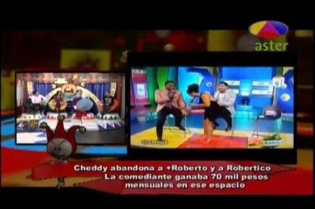 Los Dueños Del Circo Y La Renuncia De Cheddy García De Más Roberto