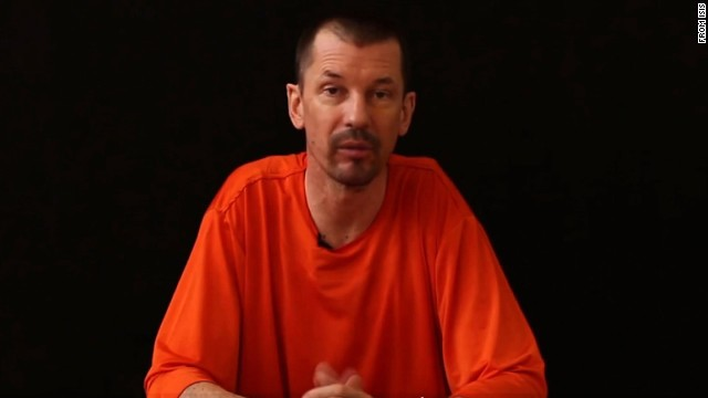 NS Slug: ISIS MESSAGE FROM HOSTAGE JOHN CANTLIE