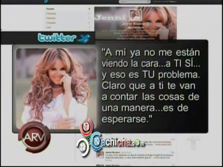 Cantante Mexicana Jenny Rivera Y Su Hija Matándose Por El Twitter #Vídeo