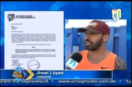 Jhoel Lopez Y La Carta Que Le Mandó La LIDOM Cuando Lo Suspendieron