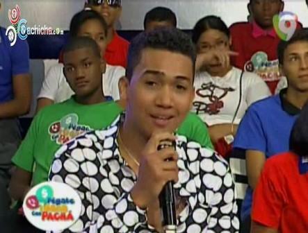 Presentación De David Kada En Pégate Y Gana Con El Pachá @ElPachaOficial @Manny_Peralta