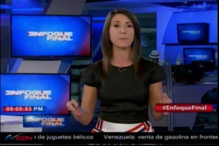 Katherine Hernandez De NCDN Le Envía Un Mensaje Directo Al Vocero De La PN