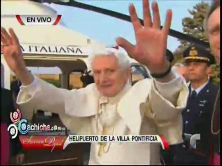 La Despedida Del Papa