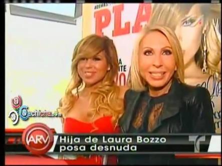 Laura Bozzo Contenta De Ver A Su Hija En Cueras En Playboy