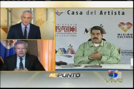 Al Punto Con Jorge Ramos: La Entrevista A Luis Almagro, Habla Sobre La Situación De Venezuela