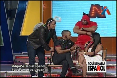 Los Famosos Juegan En «Aquí Se Habla Español»