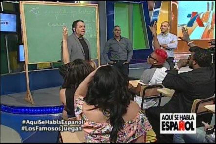 Descubre Las Habilidades De Tus Famosos Favoritos En Aquí Se Habla Español