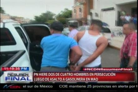 Policía Hiere A Dos De Cuatro Malhechores Durante Persecución