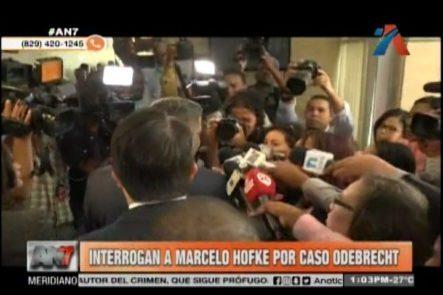 Interrogan A Marceo Hofke Por Caso Odebrecht