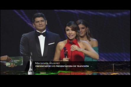 Eddy Herrera Y Francisca Lachapel Presentan Nominados A Mejor Presentador Y/o Presentadora De Televisión: Mariasela Alvarez