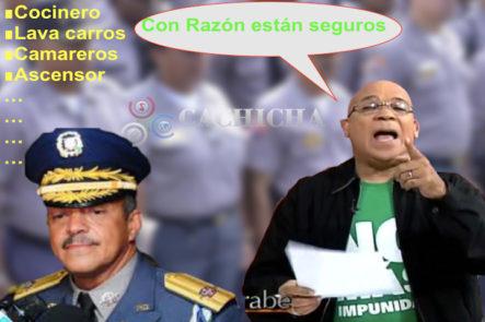 """""""Hasta Los Lava Carros De Nelson Paredes Son Policías."""" Marino Zapete Detalla Las Funciones De Los 132 Escoltas Del Ministro De La Policía"""