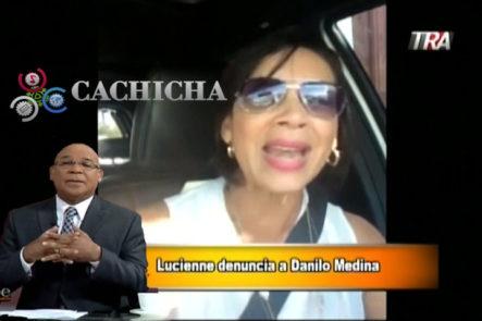 """Marino Zapete: Lucienne Carlos Le Dice Sus Verdades A Danilo Medina """"¡Mire Sr. Medina, Nosotros Los Dominicanos Somos Quienes Aportamos Eso Con Nuestro Dinero!"""""""