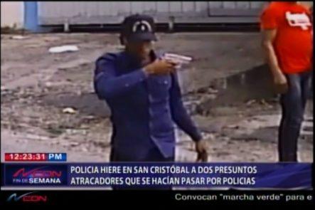 Policia Hiere En San Cristóbal A Dos Presuntos Atracadores Que Se Hacían Pasar Por Policías