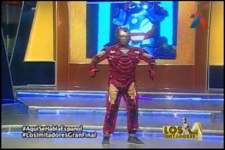 Liondy Ozoria Imitando A Omega El Fuerte Versión Iron Man