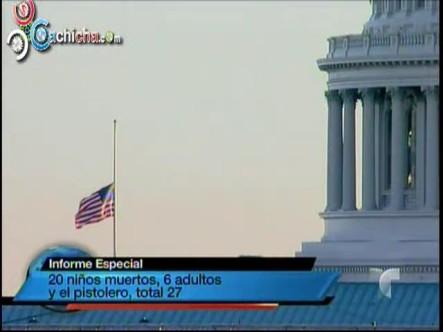 Duelo Nacional en EE.UU. Por Masacre En Connecticut #Vídeo