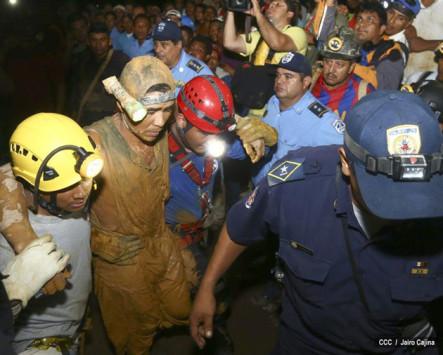 Nicaragua Continúa Búsqueda De Siete Mineros Atrapados Tras El Rescate De Primeros 20