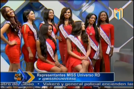Representantes de Miss Universo RD 2016