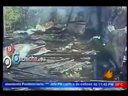 Muere Calcinada Menor De Dos Años Al Quedar Atrapada Por Incendio En Vivienda #NoticiaSIN #Video