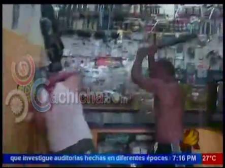 Multitud Lincha Hombre Que Mato A Su Mujer En Pueblo Nuevo Santiago #Video