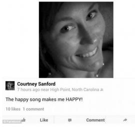Murió un minuto después de subir una selfie a Facebook